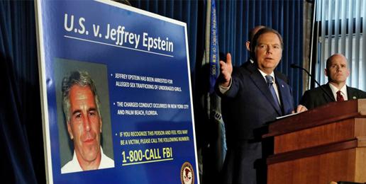 'Elite' Pedophiles Panicking after Jeffrey Epstein Arrest