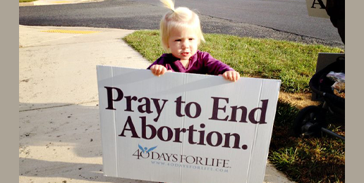 Pastor Jim Nicodem on 40 Days for Life
