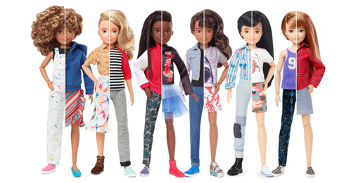 Mattel's New Gender Neutral Dolls