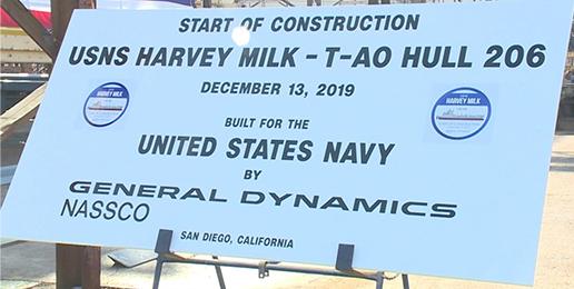 Military Honors Pederast Harvey Milk