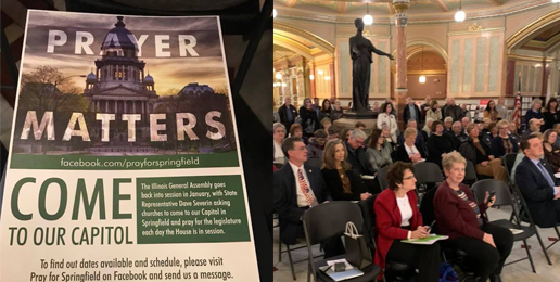 Illinois Rep. Invites Christians to 'Pray for Springfield'