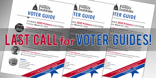 Last Call for IFI Voter Guides
