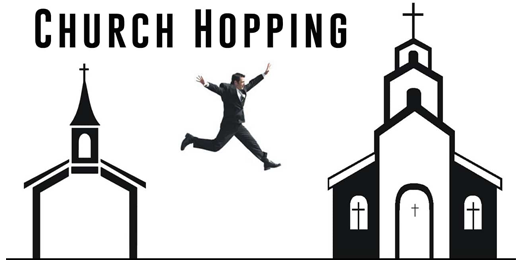 Study Finds 'Church Hopping' is Becoming More Common