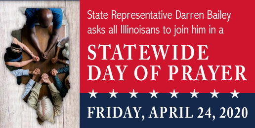 State Lawmaker Calls for Day of Prayer This Friday