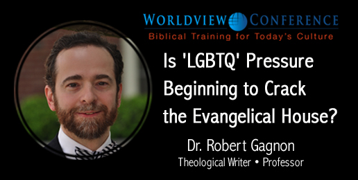 "Dr. Robert A.J. Gagnon: Is ""LGBTQ"" Pressure Beginning to Crack the Evangelical House?"