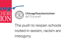 Chicago Teachers' Union's Absurd Tweet About School Re-Openings