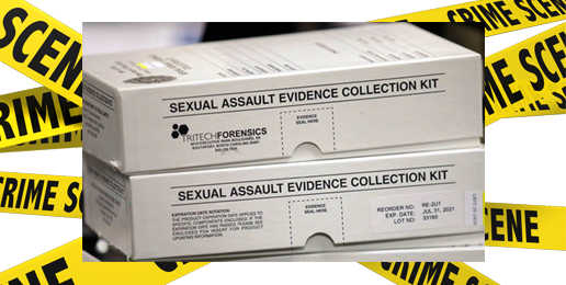 Rape-Kit Backlog Increases Despite Politicians' Efforts