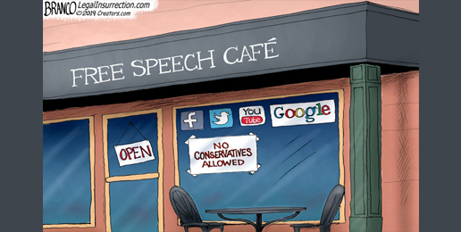Censorship of Wrongthink = Loss of Freedom