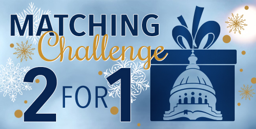 $2 for $1 Matching Challenge!