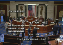 """U.S. House Passes """"In-Equality"""" Act"""