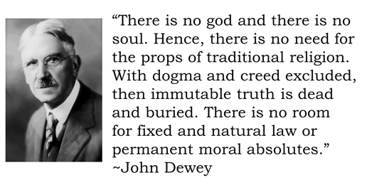 John Dewey's Public Schools Replaced Christianity With Collectivist Humanism