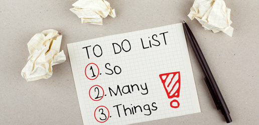 What I Didn't Include on My To-Do List