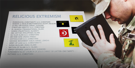 """Woke Warriors at the Pentagon Labeling Religious Service Members as """"Extremists"""""""