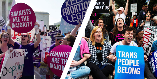 Yes, Abortion and Transgenderism are Two Sides of the Same Coin