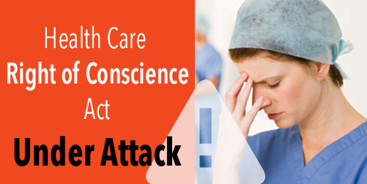 The Health Care Right of Conscience Act & COVID-19